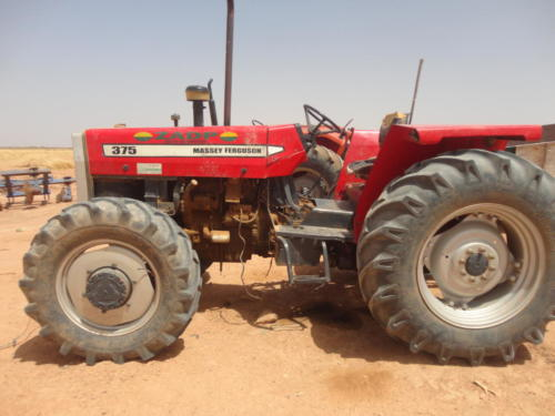 Tractor for Cotton Farming
